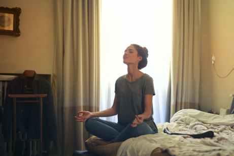 Disfrutar de los pequeños momentos: meditar