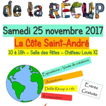 La Ressourcerie à la «Faites de la Récup'», à la Côte St-André