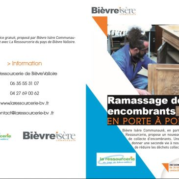 Collectes d'encombrants en Bièvre Isère Communauté