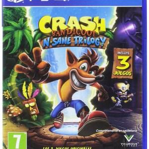 Videojuego Crash Bandicoot N Sane Trilogy PlayStation 4