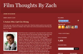 LAMB #1087 – Film Thoughts By Zach