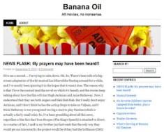 LAMB #1110 – Banana Oil Movies