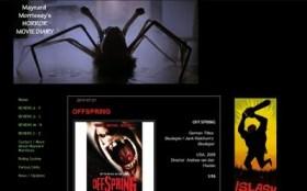 Brutally Blunt Blog Blusterings #55: Maynard Morrissey's Horror Movie Diary
