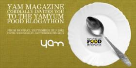 PLUG: #YAMYUM Food Blogathon
