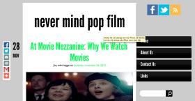 Brutally Blunt Blog Blustering #74 – Nevermind Pop Film