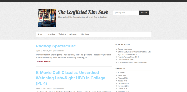 #1799 The Conflicted Film Snob