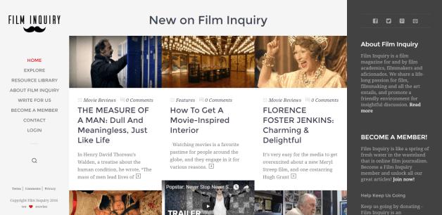 #1819 Film Inquiry