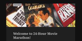 LAMB #1895 – 24-Hour Movie Marathon