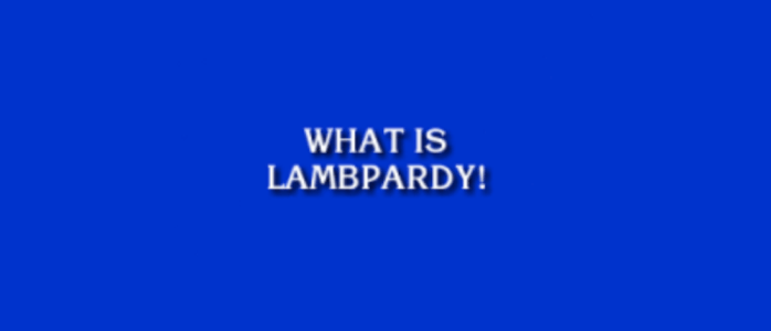 LAMBPARDY! MARCH 2021