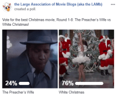 LAMBracket: Best Christmas Movie Round 1-8 Results