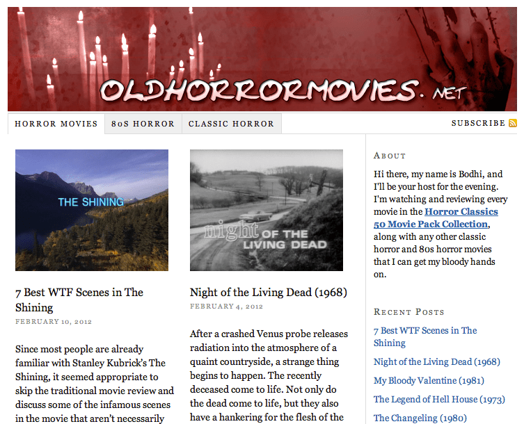 The Large Association of Movie Blogs | LAMB #1229 – Old Horror Movies