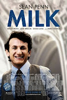 The movie poster for 'Milk'