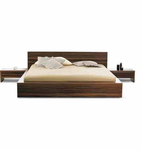 Adorable Series 016 – King Size (6ft by 6ft) Bed Frame With 2 Night Stands