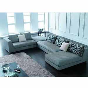 Buddies Series – 7 Seater Sectional Sofa With Side Ottoman