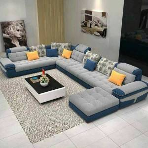 Canaan Series 10 Seater Sofa – Fabric Finish