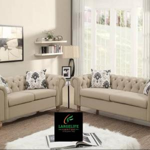 Kennedy Series Upholstered Full Sofa Set (3 2 1 1) Seaters