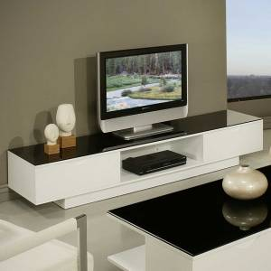 TV Entertainment Unit 4 (180cm by 40cm by H 43cm) With PremiumGloss Top Finishing)