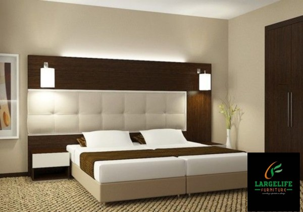 Gates Series Luxury King size (6ft by6ft) Bedframe with the Lights