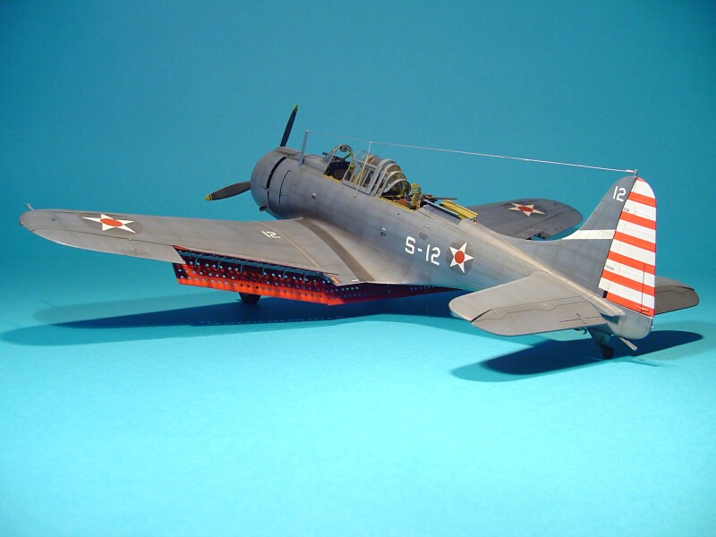 Trumpeter 1 32 Douglas Sbd 3 Dauntless Large Scale Planes