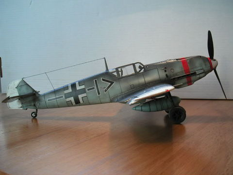 Airfix 124 Bf 109E Large Scale Planes