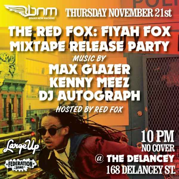 Red-Fox-Fiyah-Fox-Mixtape-Release-Party