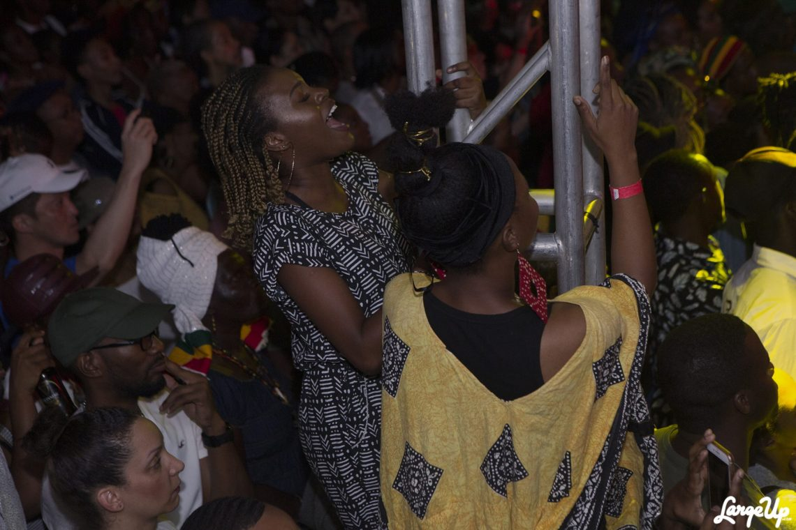 Koffee fans at Reggae Month