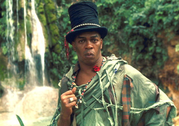 Geoffrey Holder: Trinidadian-born actor, dancer, choreographer, painter and author, best known as Baron Samedi of James Bond fame  (August 1, 1930 – October 5, 2014)