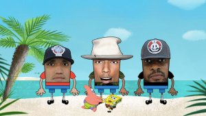"SpongeBob Skank: N.E.R.D. Dip in the Caribbean with ""Squeeze Me"""