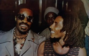 Throwback Thursdays: When Bob Marley Met Stevie Wonder