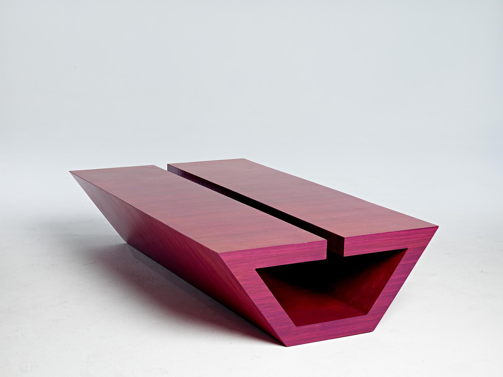 Scot Sardinha and Modern Earth Home's Pink Poui Table