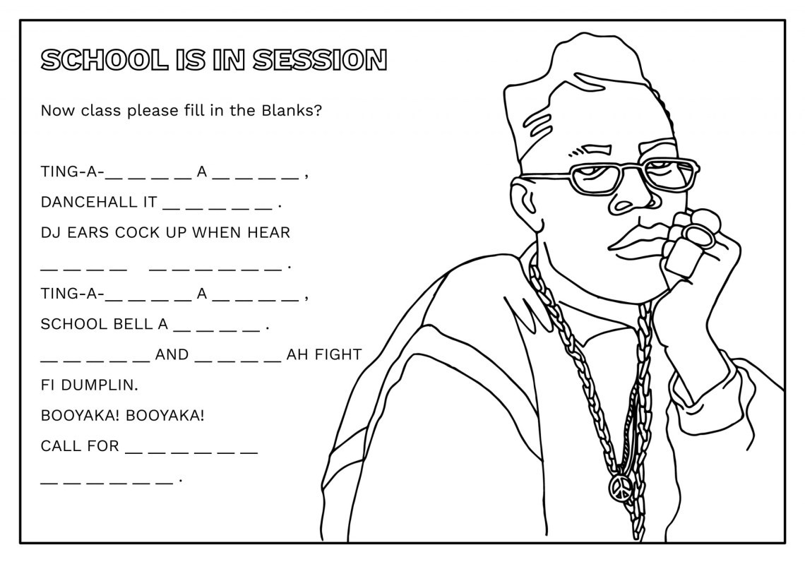 shabba-ranks-dancehall-colouring-book