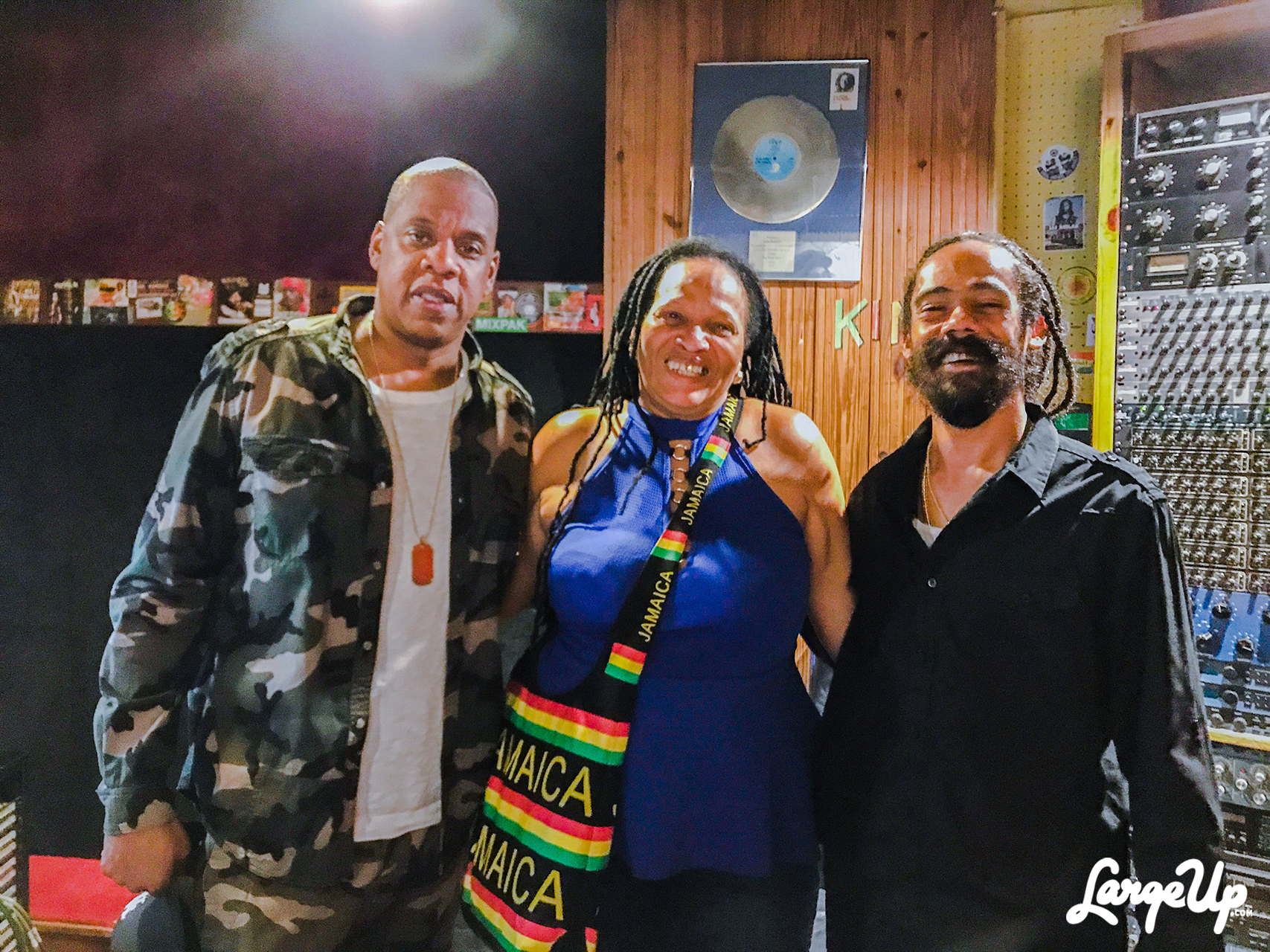 "Jay-Z Connects with Damian Marley + Sister Nancy on ""BAM"""