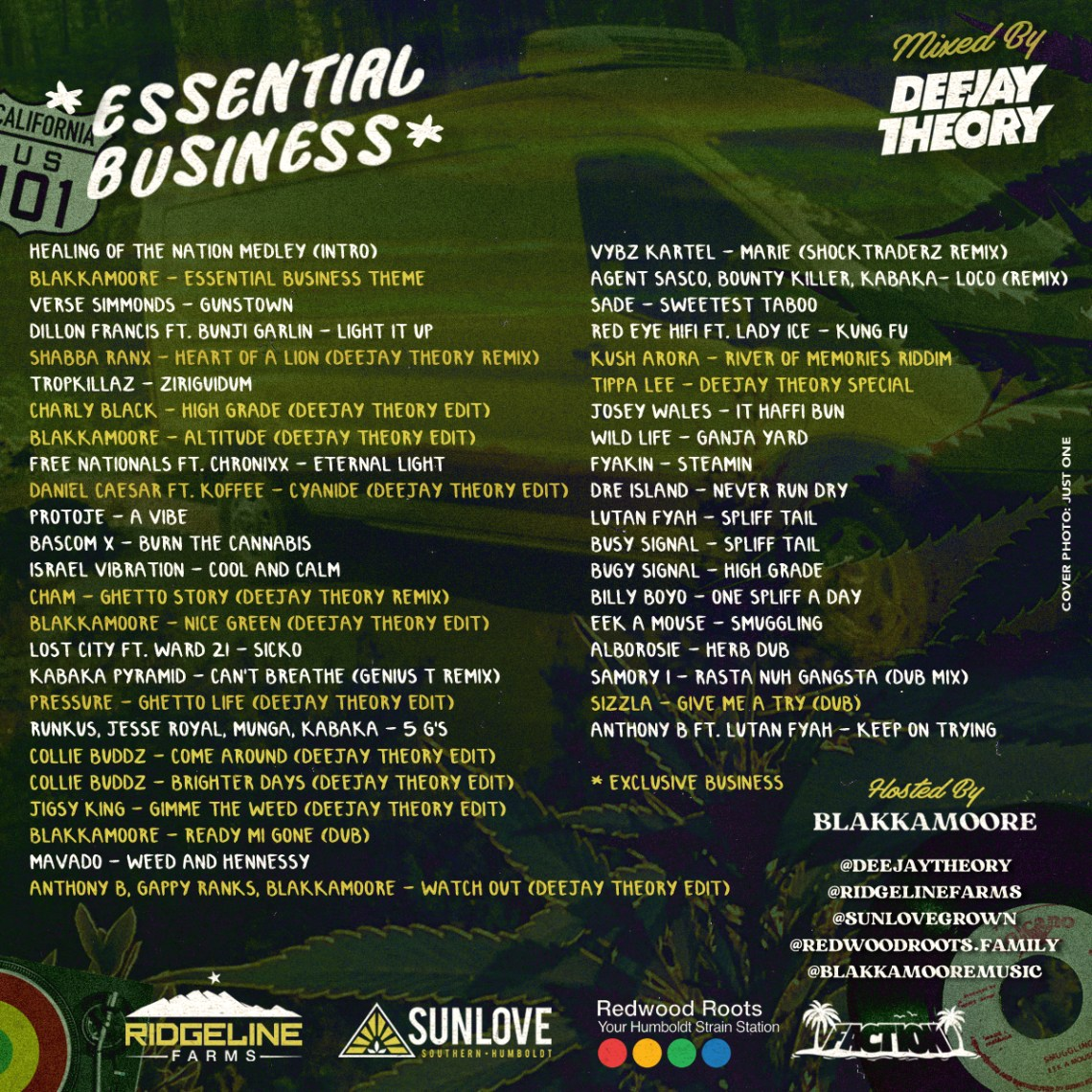 Deejay Theory - Essential Business Mixtape