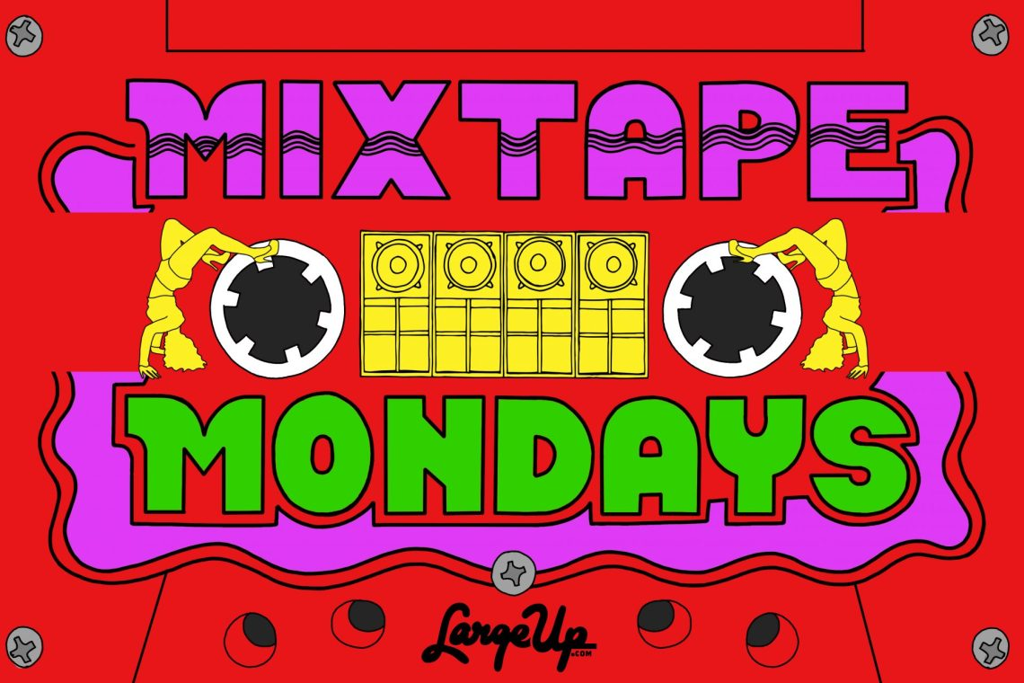 Mixtape Mondays graphic by Robin Clare