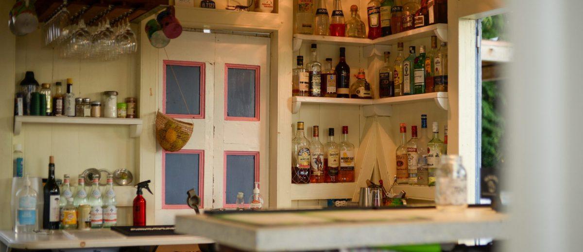 The Lime Keel House bar