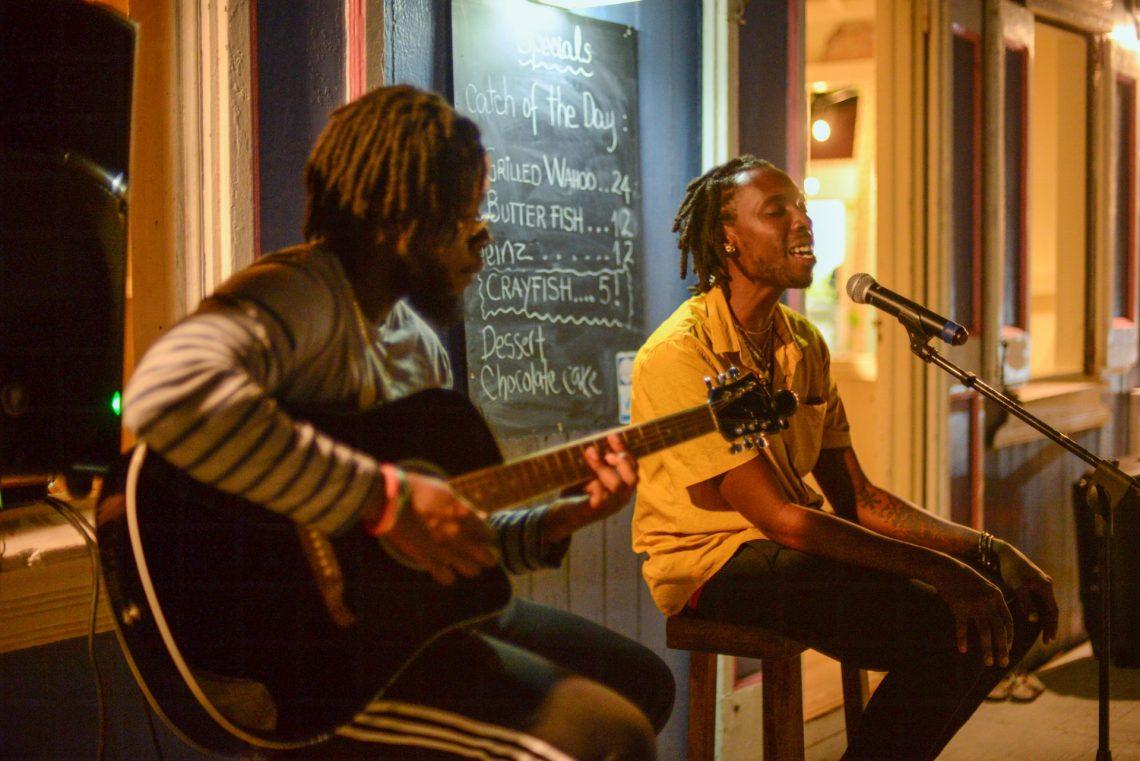 Anguilla musicians Nukiid and Dawuan
