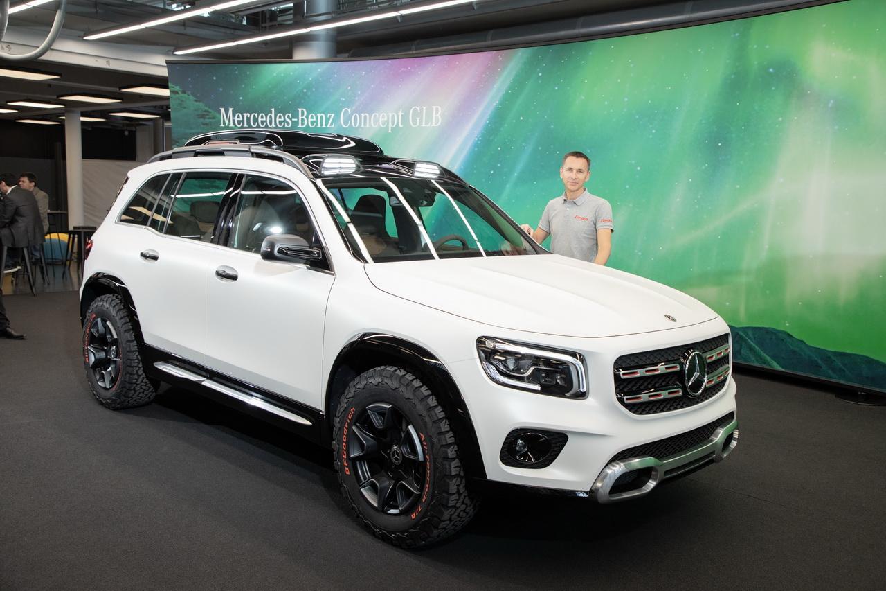 Mercedes Concept Glb Le Futur Suv 224 Sept Places De