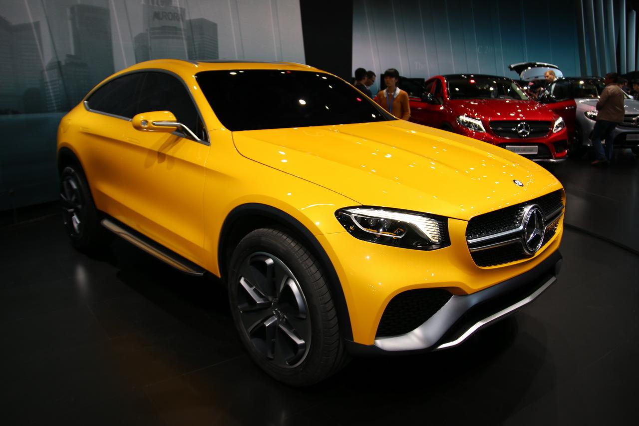 Mercedes GLC Coup Concept 2015 Il Annonce Le Remplaant