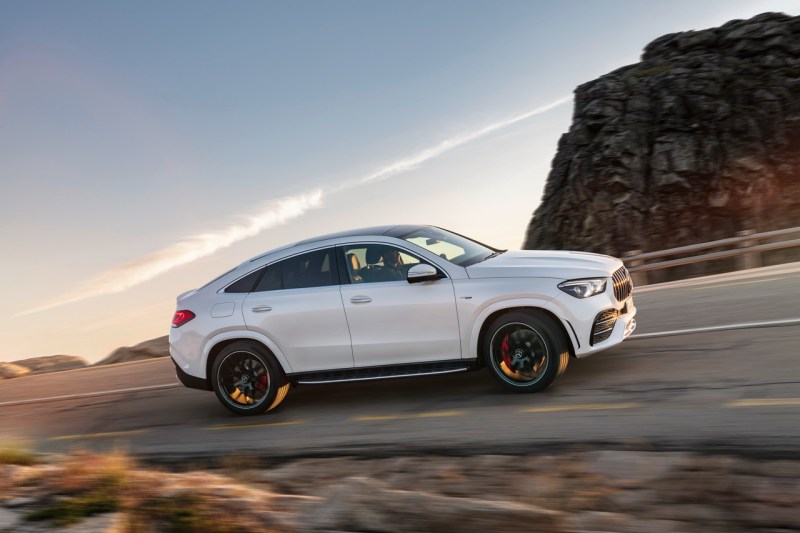 Mercedes-AMG GLE 53 4MATIC + Coupe (2020) wit profiel