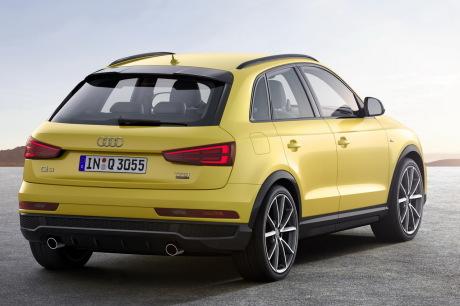 Audi Q3 S line competition vue arrière