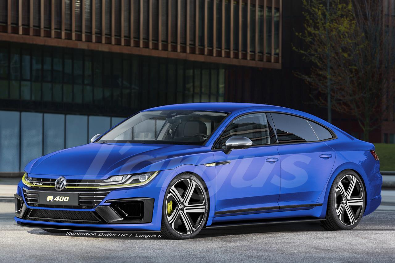 Volkswagen Arteon R 2019 Un Moteur VR6 De 400 Ch Sous Le