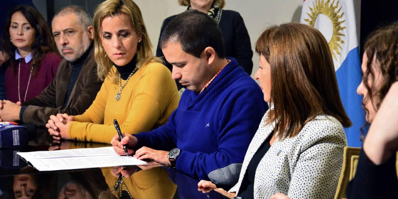 El Gobierno de Rio Cuarto formalizó el trabajo de articulación con diversas instituciones educativas de la ciudad
