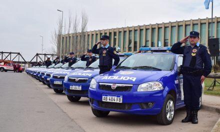 34 nuevos móviles para la policía del sur provincial