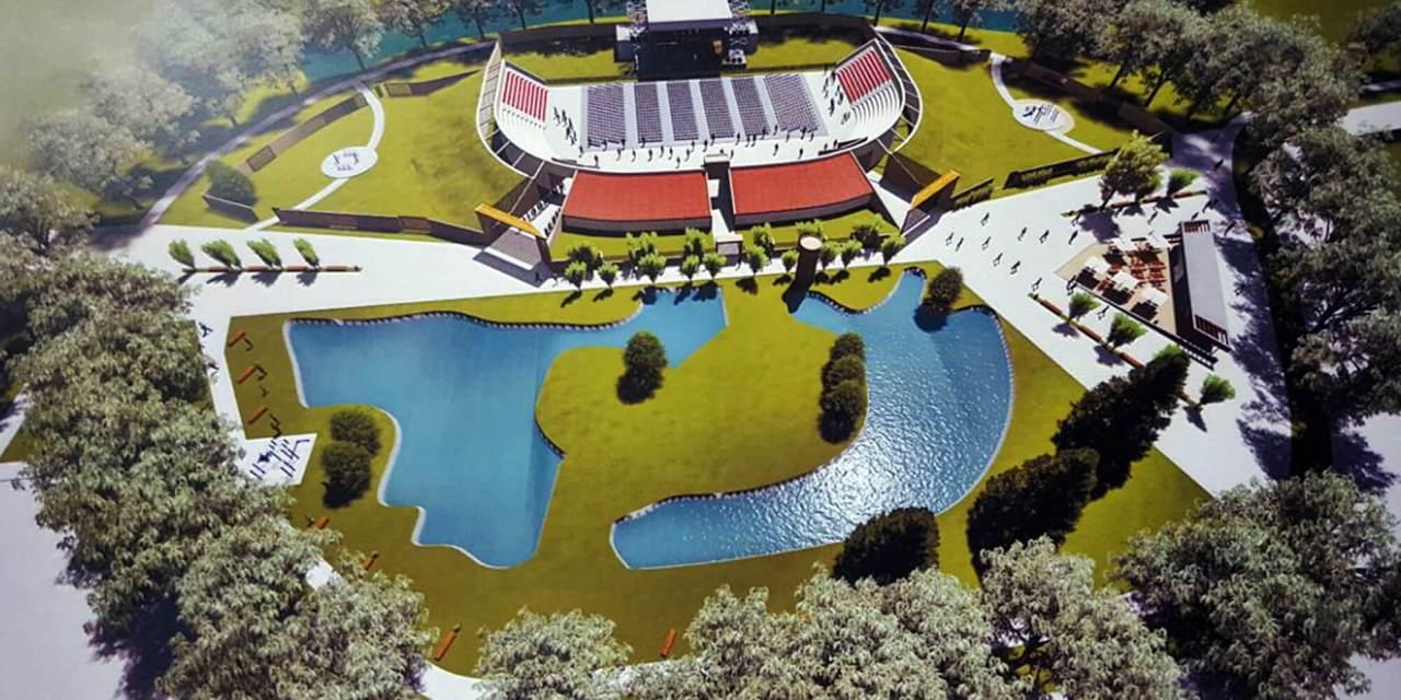 Llamosas anunció la puesta en valor del Parque Sarmiento