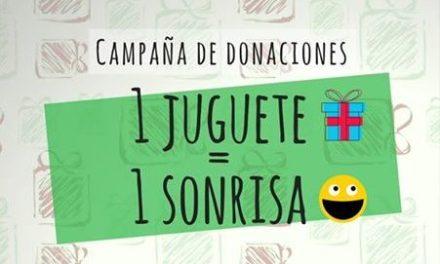 Campaña de donaciones «1 juguete = 1 sonrisa»