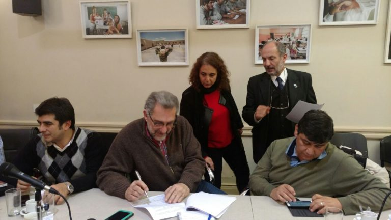 Acuerdo paritario entre el Gobierno Nacional y los gremios de docentes universitarios