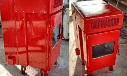 El Da Vinci construye estufas de bajo consumo