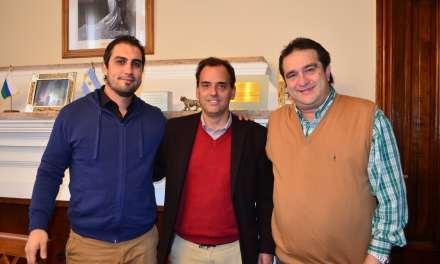 Llamosas se reunió con Adrián Bernal