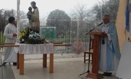 El Obispo Uriona encabezó la misa y procesión en honor a San Cayetano