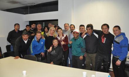 Boxeo: Gimnasios de Río Cuarto recibieron elementos deportivos